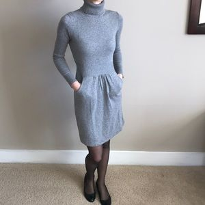 J.crew turtleneck sweater dress